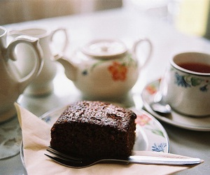 tea, food, and cake image