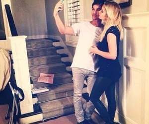 ashley benson, pll, and tyler blackburn image