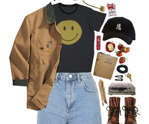 aesthetic, pale, and Polyvore image