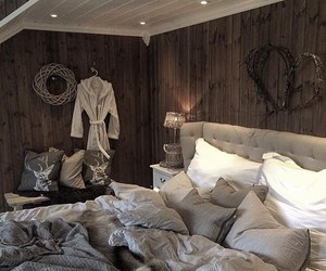 bed, bedroom, and inspiration image