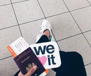 travel, passport, and weheartit image