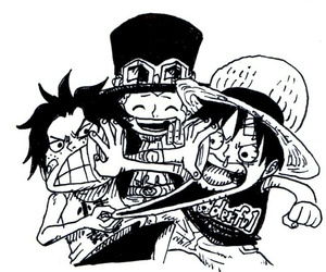 one piece and luffy image