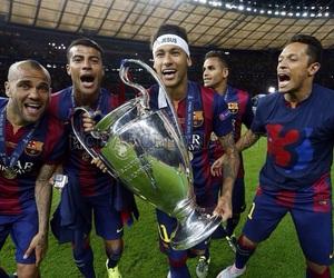 Barca, Barcelona, and brasil image