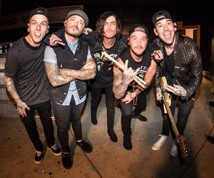 sleeping with sirens, kellin quinn, and jack fowler image
