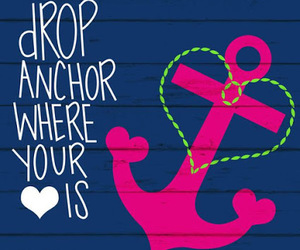 anchor and love image