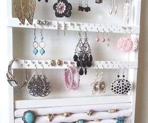 bracelet, earrings, and jewelry image