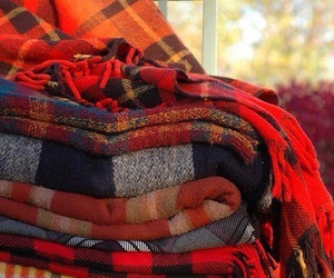autumn, fall, and blanket image