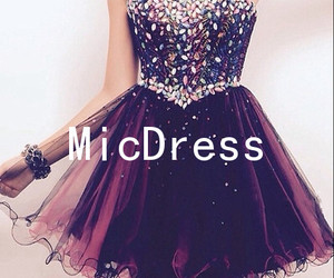 party dress, homecoming dresses, and short prom dresses image