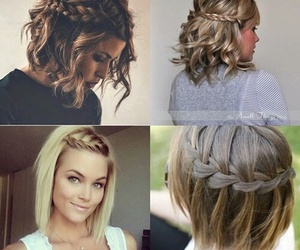 hair, hairstyles, and braid image