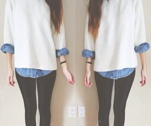casual, indie, and fashion image