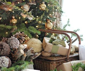 christmas, christmas tree, and presents image