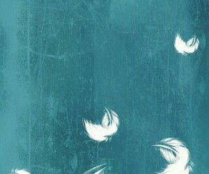 wallpaper, black, and feather image