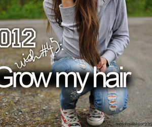 2012, hair, and wish image
