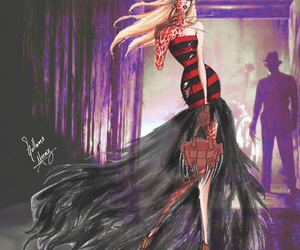 creepy, fashion, and fashion design image