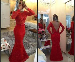 long evening dresses, red prom dresses, and open back prom dresses image