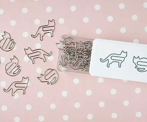 cat, pink, and clip image