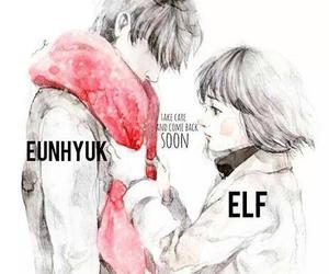 eunhyuk, elf, and super junior image