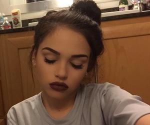 girl, makeup, and maggie lindemann image