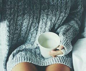 cold days, cup, and grey image