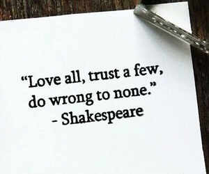 love, shakespeare, and trust image