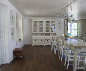 dining room and shabby chic image