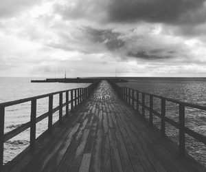awesome, bridge, and bw image