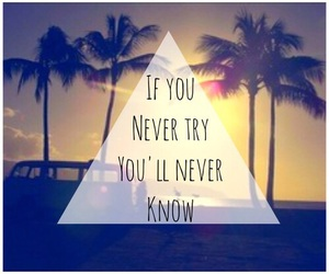 never, quote, and try image