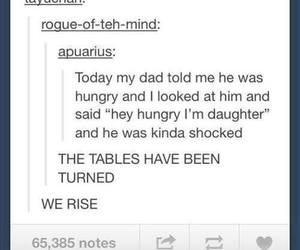funny, hungry, and tumblr image