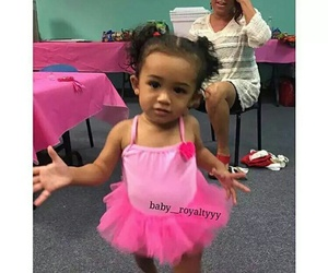 baby, breezy, and chris brown image