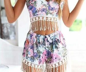 dress, sweet, and fashion image