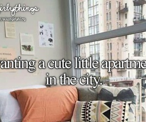 apartment, city, and just girly things image