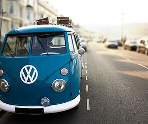 blue, car, and vans image