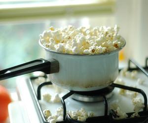 popcorn, food, and vintage image
