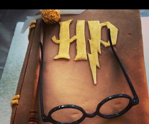 cake, harry potter, and hp image