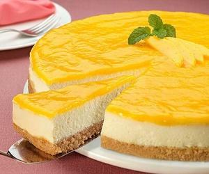 cheesecake, food, and sweet image