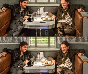 Maine, captain hook, and once upon a time image