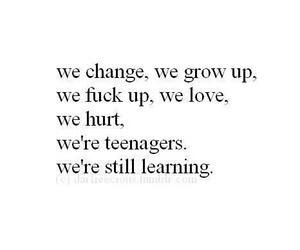 grow up, hurt, and text image