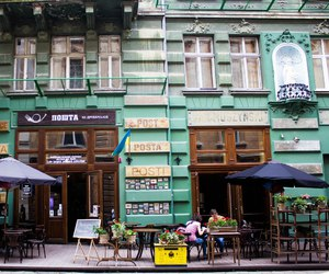 architecture, lviv, and old town image