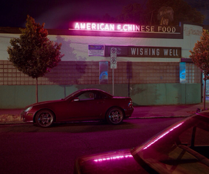 car, aesthetic, and neon image