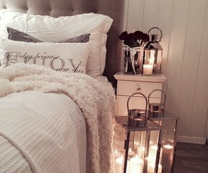 candles, cocooning, and decoration image