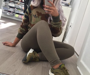 outfit, shoes, and fashion image