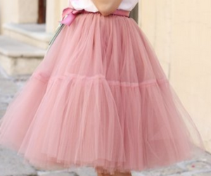cream, petticoat, and pink image