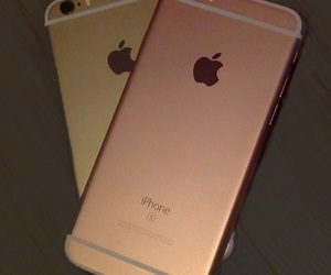 apple, gold, and rose gold image