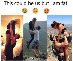 couple, fit, and hiking image