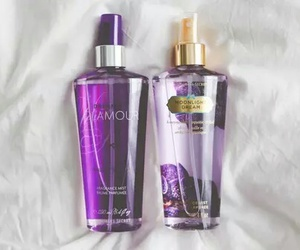 Victoria's Secret, purple, and perfume image