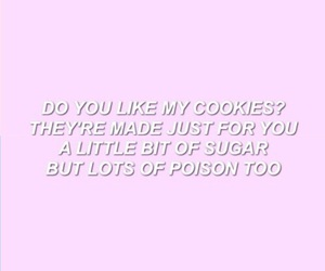 quote, Cookies, and crybaby image