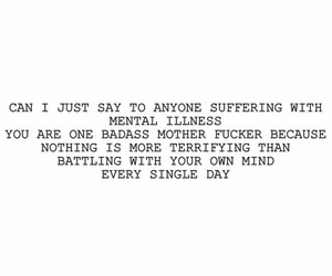 quotes, mental illness, and depression image