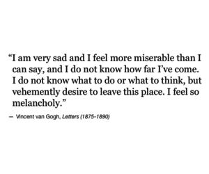 life, melancholy, and sad image