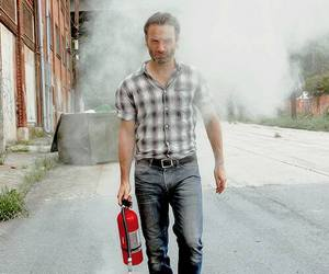 andrew lincoln, twd, and the walking dead image