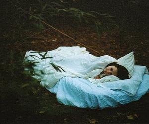 girl and sleeping image